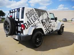 Bullzerk Jeep Sahara Partial Wrap Car Wrap City