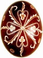 Decorating Easter Eggs With Onion Skins by The Scratch Carved Eggs Dyed With Onion Skin Were Decorated By
