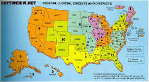 Political Map Us Map Us District Courts World Maps