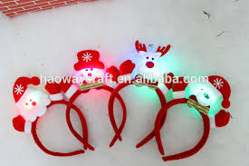 christmas headbands lighted led christmas headbands buy led headband