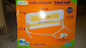 Dexbaby Safe Sleeper Convertible Crib Bed Rail White Safe Sleeper Bed Rail White Bed
