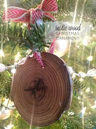 rustic wood ornaments farmhouse made
