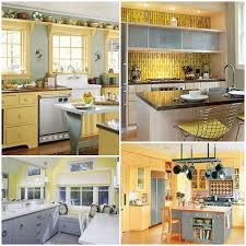 Updated Kitchens Yellow Gray Kitchen Inspiration Photos Pearl Designs Pinterest