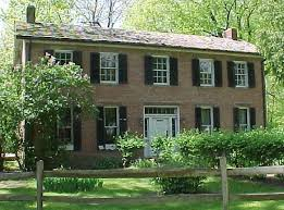 federal style houses union township