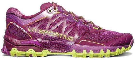 La Sportiva Bushido Trail Running Shoe Plum/Apple Green 37.5 26L-501705-37.5