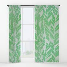 feather window curtains society6