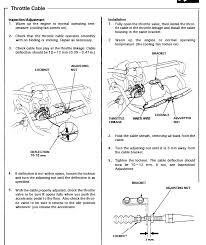 2001 honda odyssey throttle how do i adjust my throttle cable honda tech honda forum