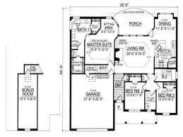 collection one storey bungalow house plans photos free home