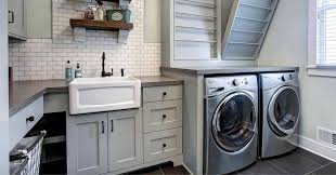 small kitchen sink and cabinet combo tiny laundry room try these 10 creative cabinet ideas