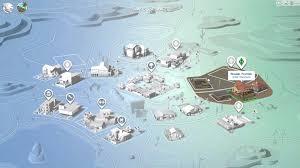 World Of Work Map by The Sims 4 Main Menu U0026 World Maps Youtube