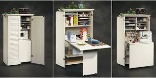 diy craft armoire with fold out table brilliant folding craft table with storage craft tables you can buy