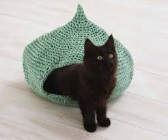 knitting pattern cat cave cozy cat cave by erin black knit crochet projects pinterest