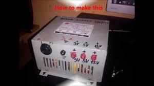 Pc Power Supply Bench Converting Computer Atx Power Supply To Lab Bench Power Supply Hd