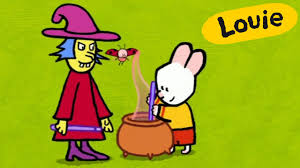cartoon for kids louie draw me a witch hd youtube