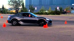 frs scion 2012 brand new scion frs autocross sept 1 2012 youtube