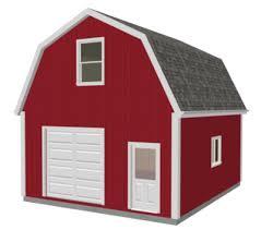 gambrel garage garage plans sds plans