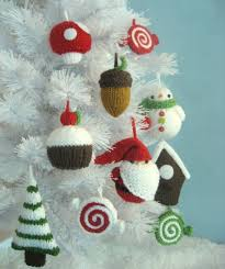 holiday ornaments knitting patterns in the loop knitting