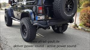 hauk hellcat jeep wrangler jeep wrangler crd powersound by allradpauli youtube