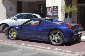 Ferrari 458 Blue - ferrari 458 spider 8 february 2017 autogespot