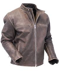 motorcycle leathers vintage brown rebel rider motorcycle scooter jacket ma11026zdn