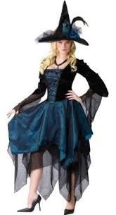 Endora Halloween Costume Beautiful Blue U0026 Black Witch Halloween Costume Costume