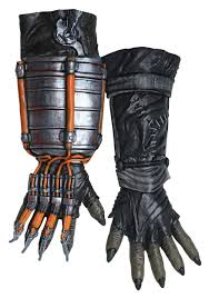 batman arkham city halloween costumes scarecrow arkham knight deluxe gloves