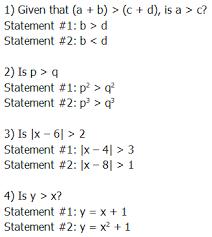 gmat quant arithmetic with inequalities