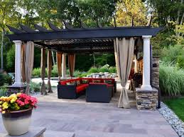 Pergola With Curtains Engrossing Ideas To Make Your Yard More Enjoyable With Pergola