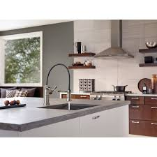 Brizo Kitchen Faucet by D63225lfpc Artesso Pull Out Spray Kitchen Faucet Chrome At