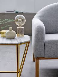 Wohnzimmer Lampe Er Couchtisch Couchtisch Metric Metall Marmor Gold Room Pinterest Marmor