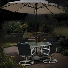 Solar Patio Umbrella Lights by 72 Led Solar Powered Parasol Umbrella Fairy String Lights Dual