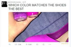 Buy All The Shoes Meme - thedress what color is this dress know your meme