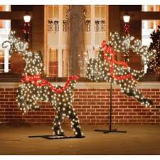 outdoor reindeer decorations you ll wayfair
