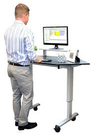 Adjustable Standing Desk Diy Diy Adjustable Standing Desk Smartfo Me