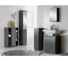 Hygena Bathroom Furniture Buy Hygena Gloss Door Bathroom Wall Cabinet Grey At Argos