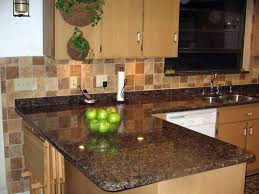 kitchen countertops and backsplash pictures baltic brown granite installed design photos and reviews granix inc