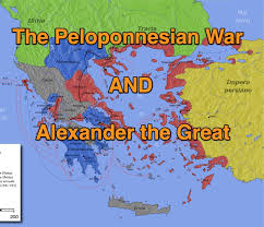 peloponnesian war and alexander the great in 8 minutes youtube