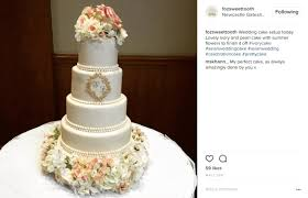wedding cake newcastle 68 dazzling pearl wedding cakes we found on instagram pearls only