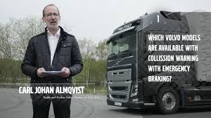 volvo truck tech support volvo trucks safety talk about our active safety systems youtube