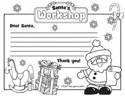 letter to santa template printable black and white printable christmas letter to santa claus write template printable