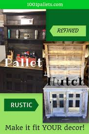 rustic country style pallet hutch u2022 1001 pallets