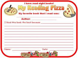 genre pizza reading sticker charts add pizzazz to reading books