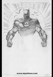 batman sketch original comic art sales