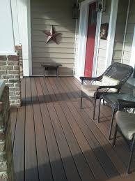 Covering Old Concrete Patio by Trex Wood Front Porch Floor Covering Ideas Like Our Composite