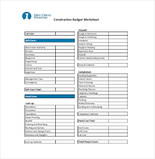 renovations budget template home building budget sheet expin franklinfire co