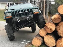 jeep stinger bumper cavfab jeep xj mj stubby bumper