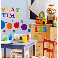 Kids Playroom by Kids Playroom Ideas With Wall Art And Drawers And Chair Bedroom