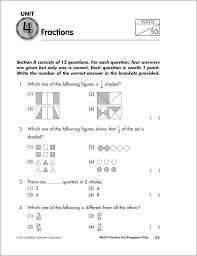 math problems for grade 4 math practice the singapore way grade 4 workbook 058534 details