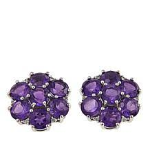 purple earrings amethyst earrings hsn