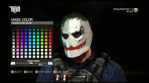 ghost mask army army of two the devils cartel amazing superhero supervillain